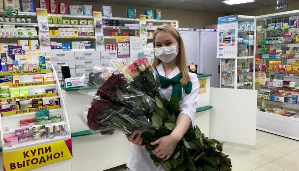 Акция на розы